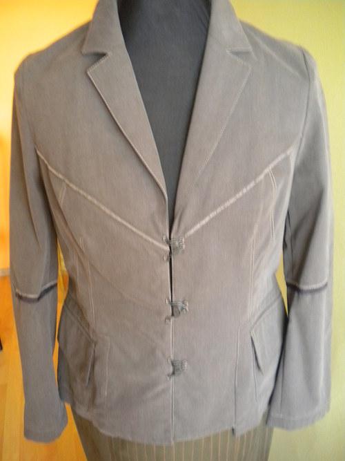 dámské sportovní khaki sako
