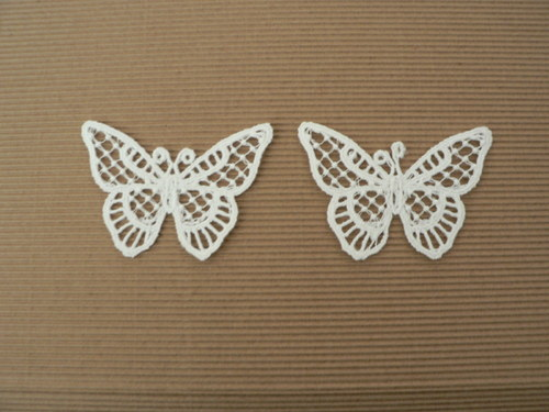 Vyšívaný motýlek