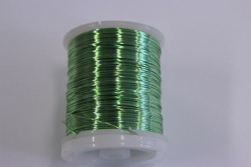 Měděný drátek 0,8mm - mátový, návin 8,5-9m