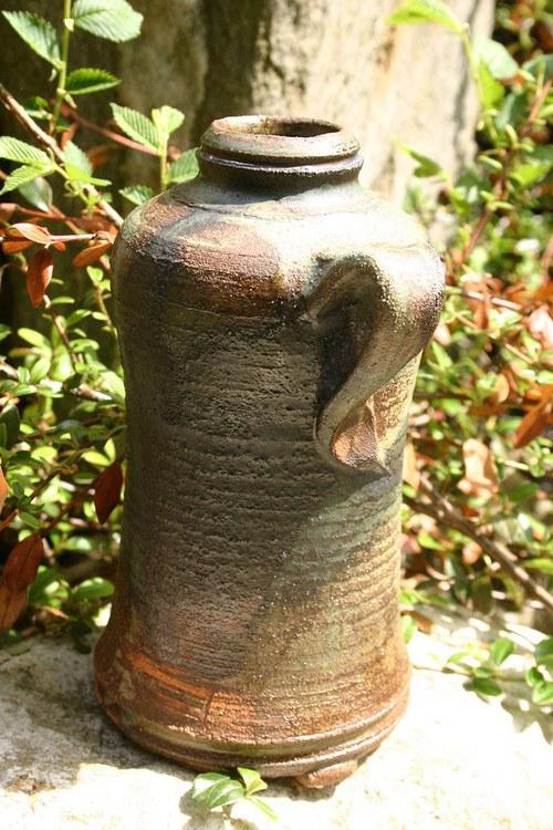 butylka žárem pece malovaná