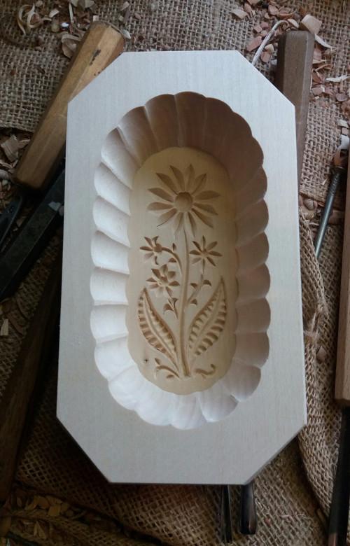 Máselnice-forma na máslo a mýdlo