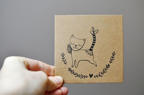 """Přání ,,Malé kotě\"""""""
