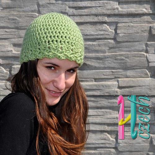 Čepice zelenkavá - vyberte si barvu