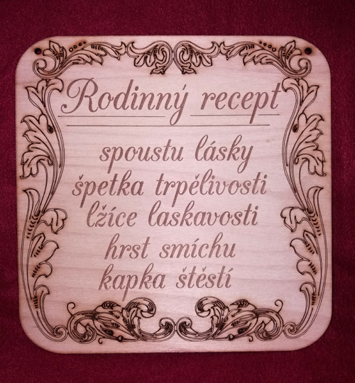 Rodinný recept