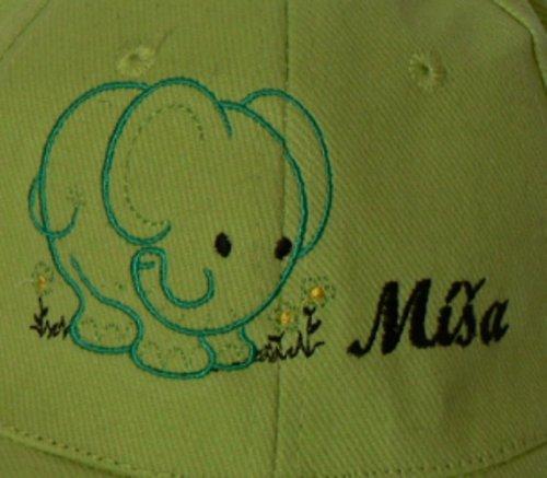 Dětská kšiltovka: Šťastný slon+ jméno