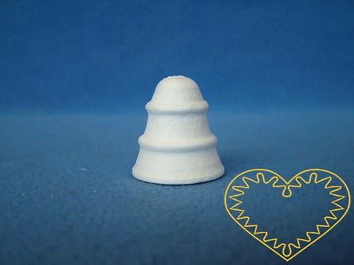Vatový zvoneček 43 x 43 mm - 1 kus