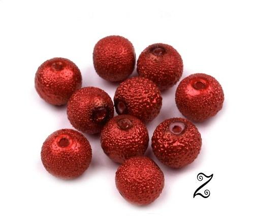 Zigana, červená jahoda, 8 mm (20ks)