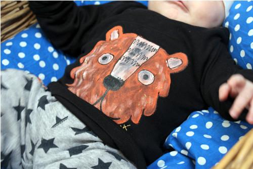 Tygříkové triko vel.80 pro PUNK BABY