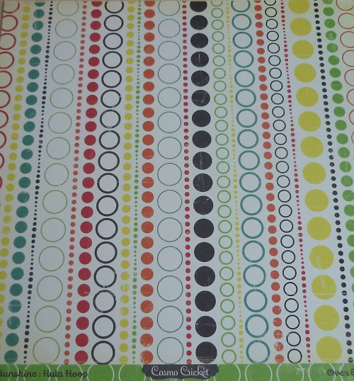 Papír Hula Hoop - kolekce Hello Sunshine