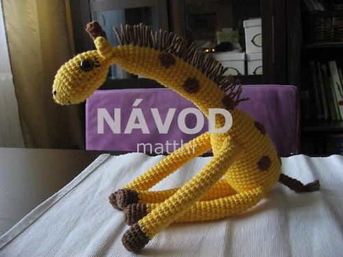 Žirafa Pepina - NÁVOD