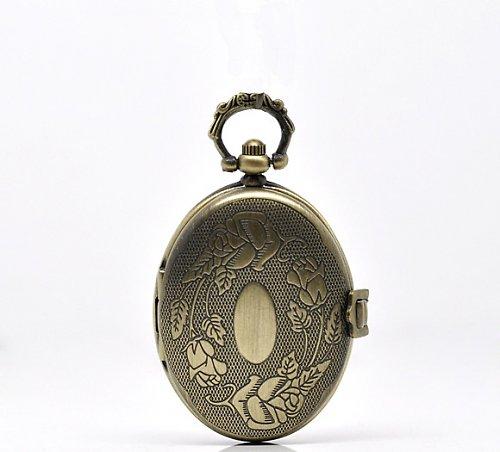 Antické hodinky bronz, Ovál, bez řetízku Typ 9