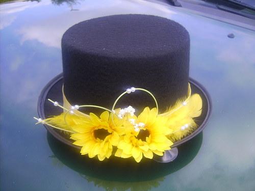 Cylindr pro ženicha slunečnicový