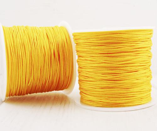 50m 54yrd Žluté Nylonové Obruby Závit Kabel Řetěze