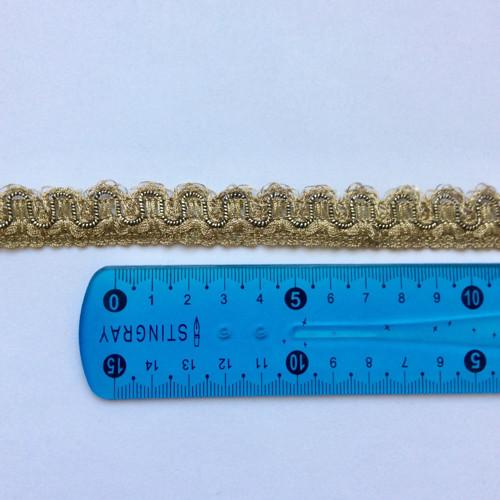 Zlatý prýmek zbytek 1,6 m
