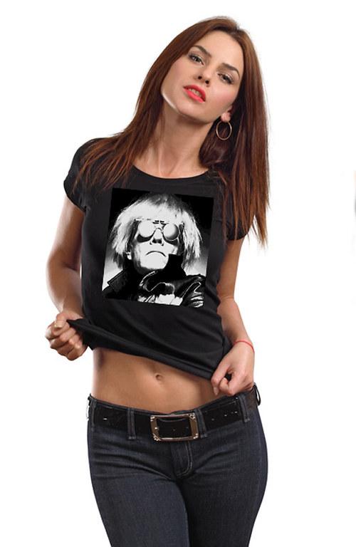 Dámské triko ,,Andy Warhol,,