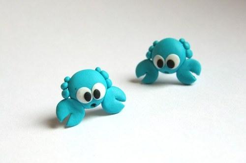 Krabíci v modrém - pecky