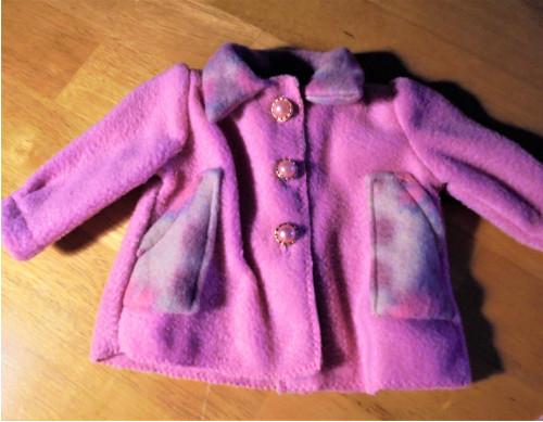 Kabátek -45 cm panenka