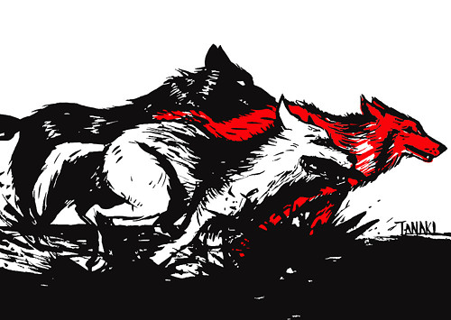 Vlci - autorský tisk