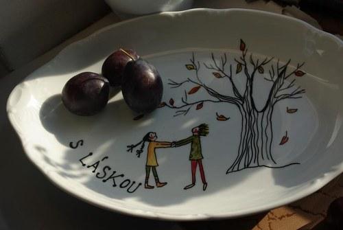 Podzimní porcelán plný lásky