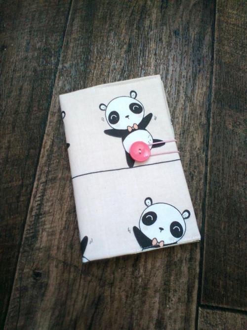 obal s kapsickou na prukaz ZP panda