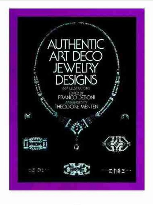 AUTHENTIC ART DECO JEWELRY DESIGNS