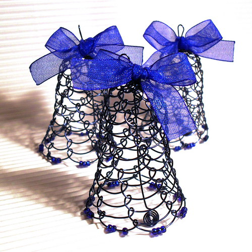 Tmavě modrý zvoneček