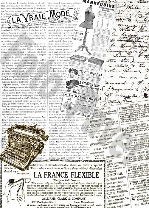 Vintage papír A5