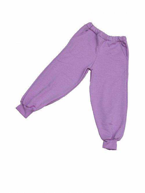 Dětské tepláčky fialové