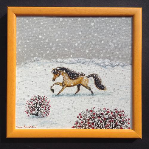 Achát má rád sníh