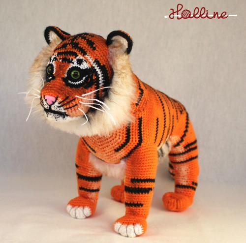 Návod: Háčkovaný tygr