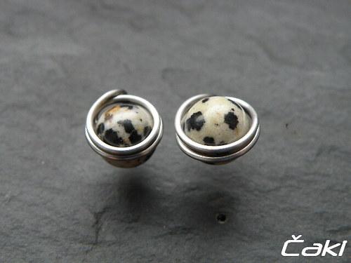 Jaspis-dalmatin-napichovátka