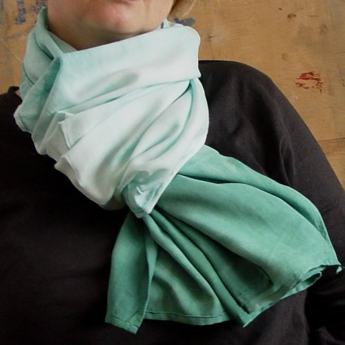 batikovaný šál FLUORA