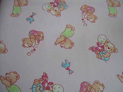 Metráž medvídek růžový