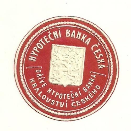 Zálepka Hypoteční Banka království českého