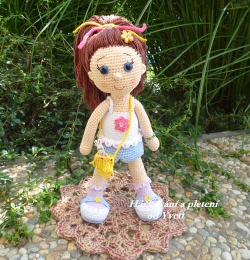 Panenka Paty - návod na háčkování