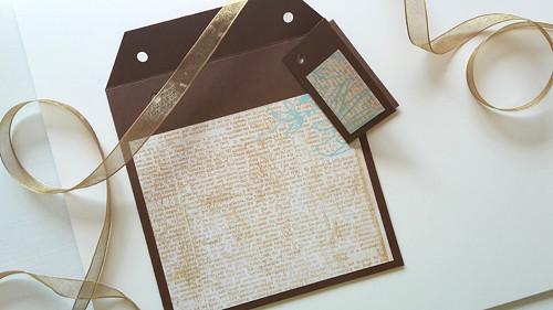 Novinový text  -  obal na CD 13x14 cm
