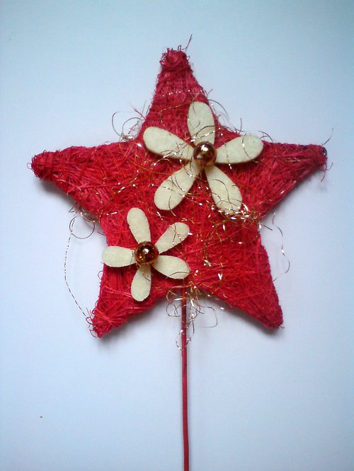 Zapichovátko do kytky - hvězdička