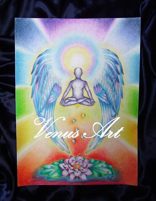 ANDĚL MEDITACE-pro harmonii,energii,zklidnění