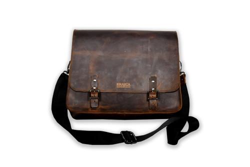 Kožená pánská taška