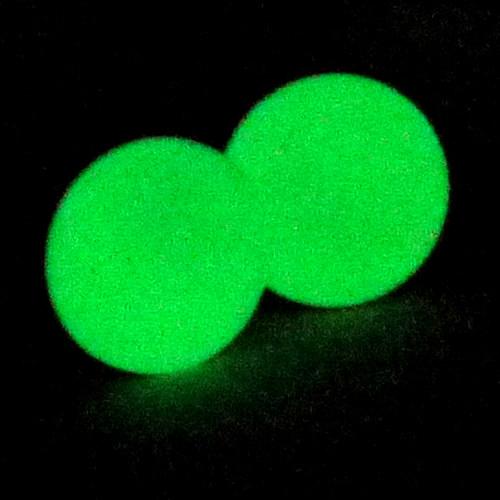 Svítící naušnice - pecky 10 mm