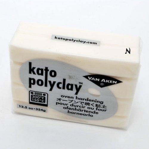 Kato Polyclay velké balení / Průhledná