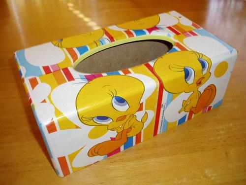 Krabička na kapesníky Kuřátko Tweety