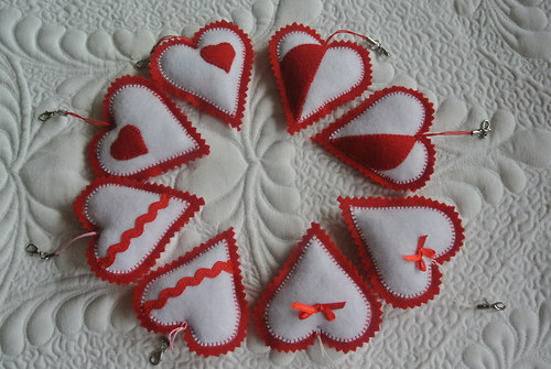 Valentýnske srdíčka