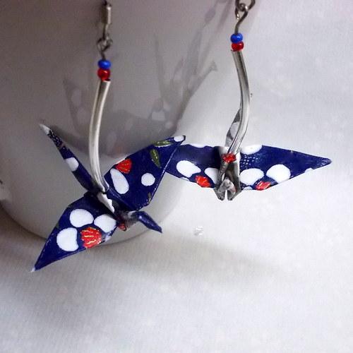 A bouře začíná - origami náušnice