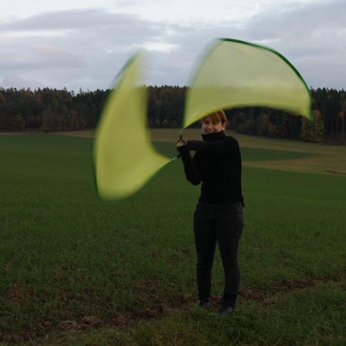"""Flag poi - vlajkové poi \""""Křídla lesní víly\"""""""