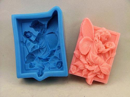Silikonová forma na výrobu mýdla