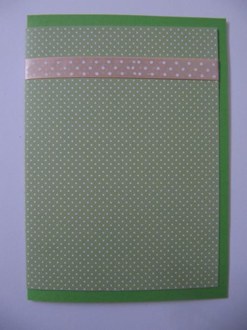 zelené s puntíky