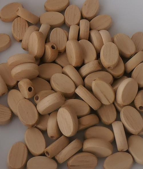 dřevěné korálky 10x15mm