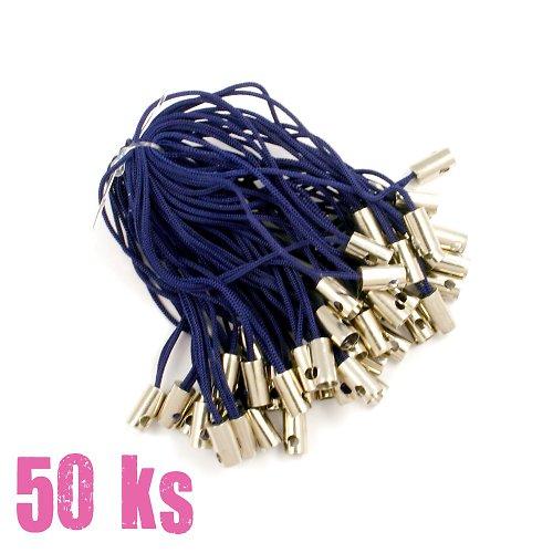 Tmavě modrá poutka - 50 ks