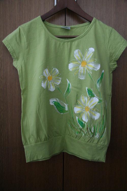 Tričko zelené